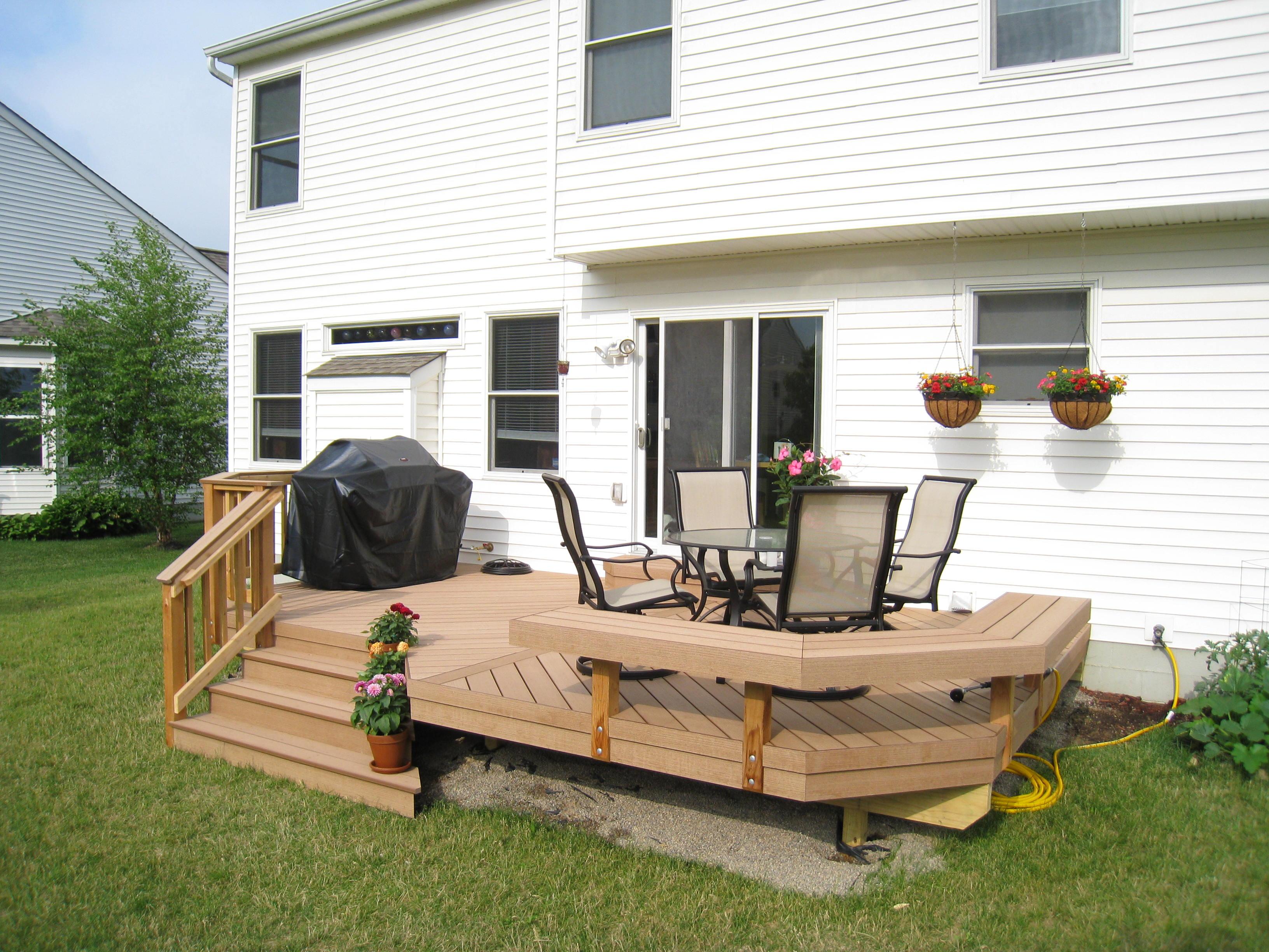 wood plastic composites vs pvc decking columbus decks