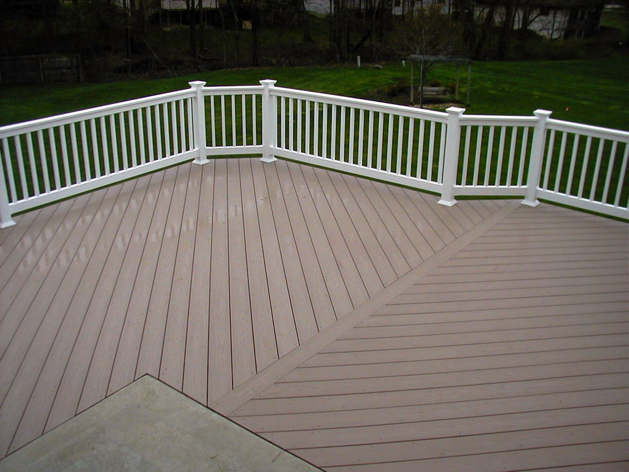 Wood decks pvc vs wood decks for What is the best wood for decking