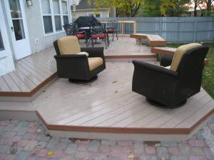 Timbertech XLM - Sand Ridge and Mountain Cedar border