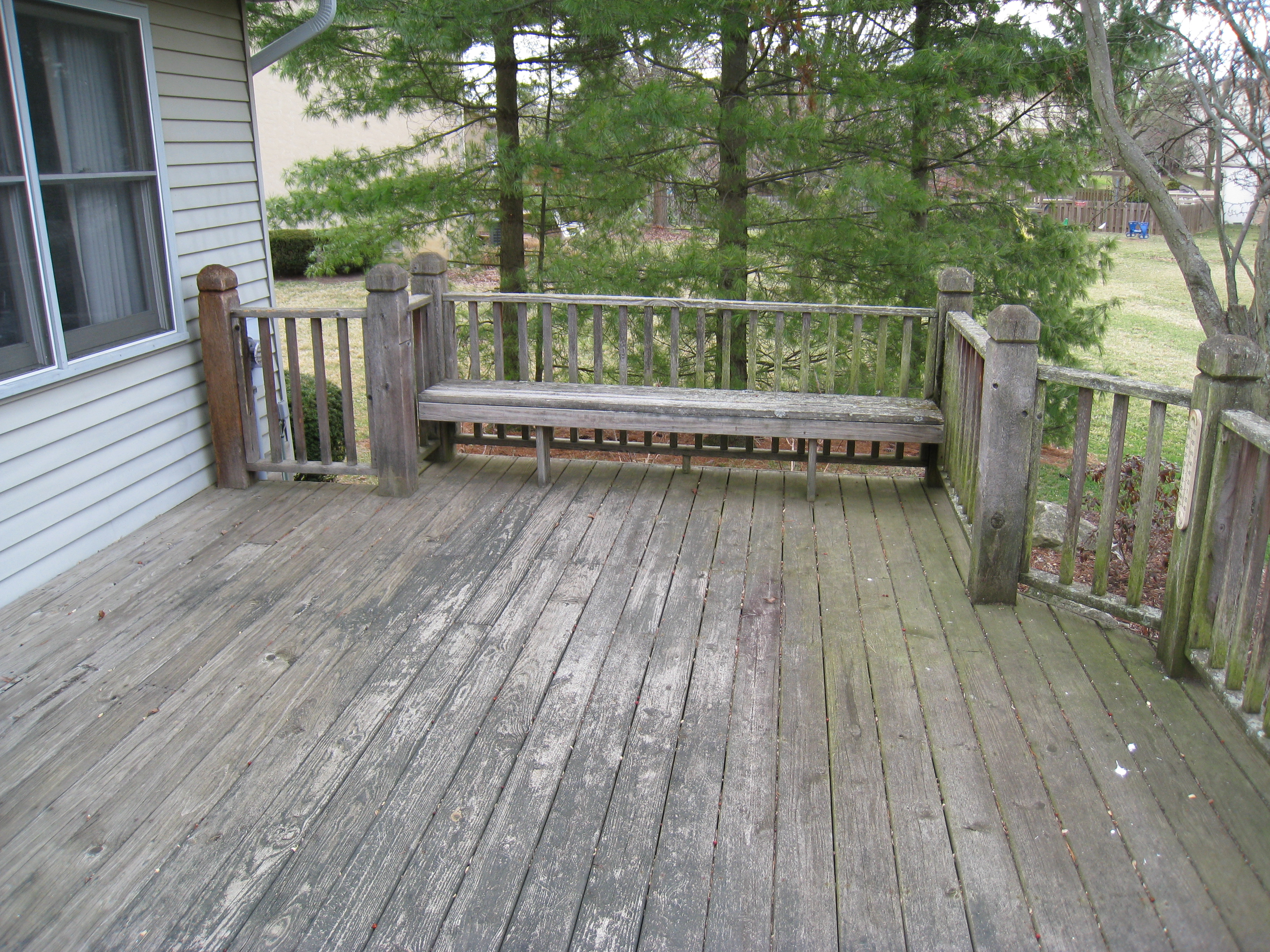 When to stain pressure treated wood - Un Maintained