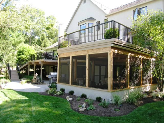 Deck designs sun considerations