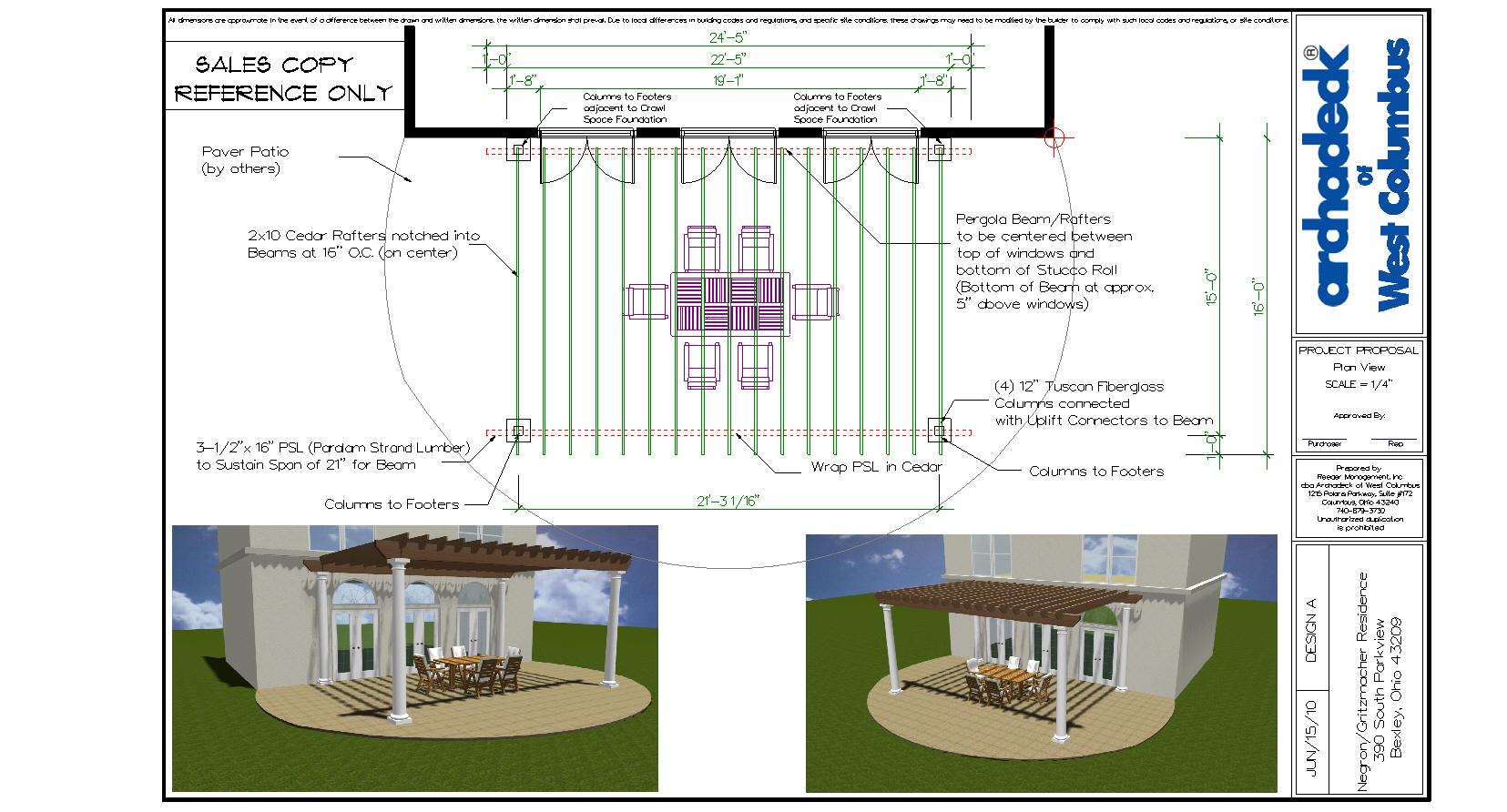 backyard america pergola kits u2013 columbus decks porches and patios