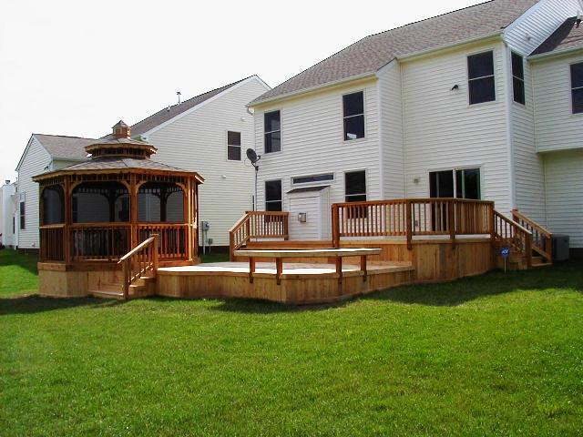 MultiLevel Decks and Deck and Patio Combinations Mean MultiLevels of