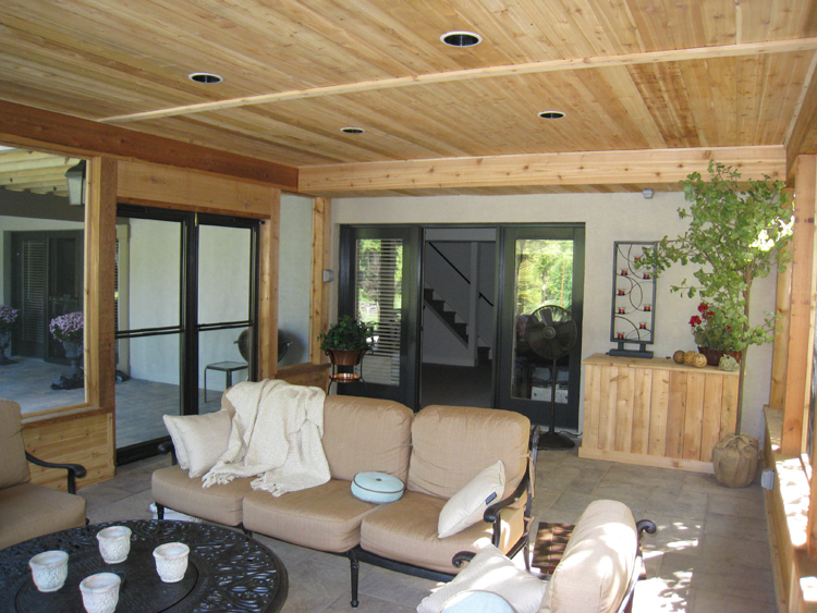 Screened Porch Interior : Interior designs on screen porches so many choices