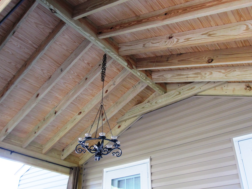 Choices In Screened Porch Ceilings Columbus OH