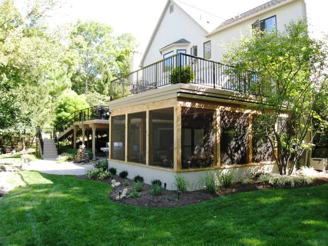 Top 10 reasons to build your new screened porch in the for Balcony underside
