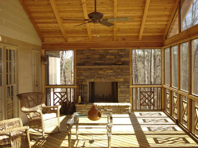 Archadeck screened porch