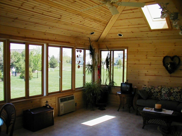 Archadeck of Columbus can convert your screened porch to a 3 or 4 season room