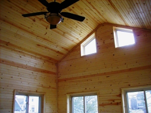 The addition of windows turn this amazing screened porch by Archadeck of Columbus into a 3 season room