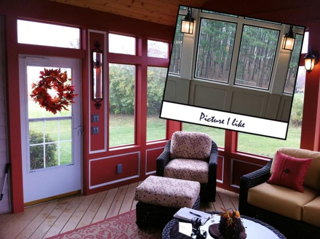 Columbus screen porch translating customer design ideas