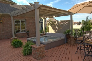 Columbus_hot_tub_deck_with_privacy_wall_and_pergola