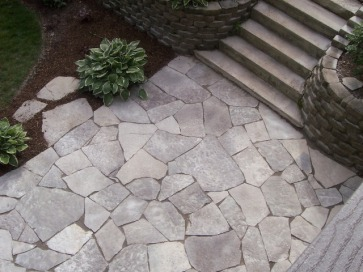 Columbus paver hardscape decorative retaining walls