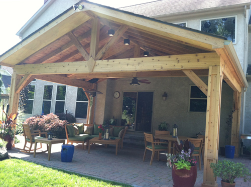 Covered Porches Columbus Decks Porches And Patios By