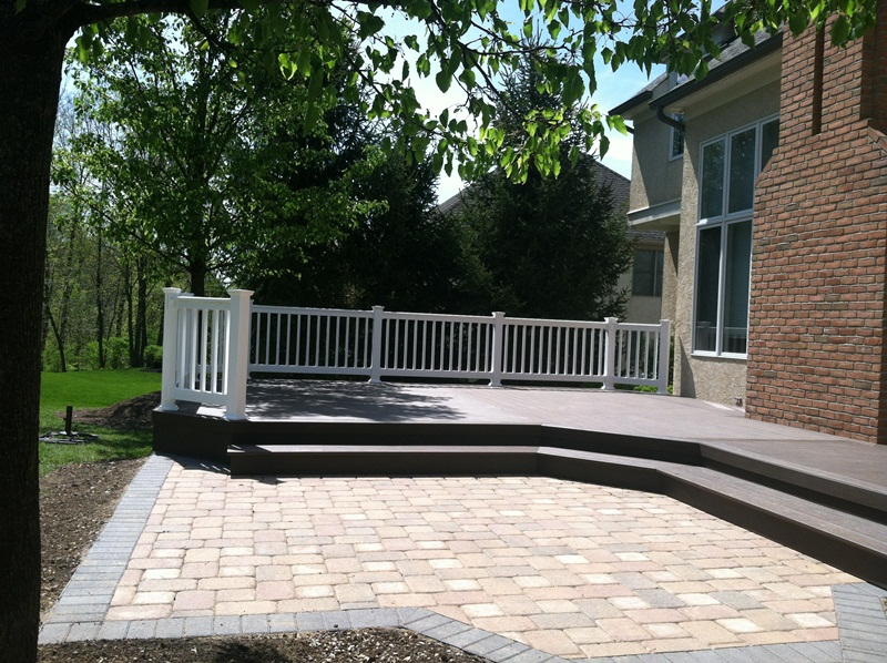 Archadeck of Columbus TimberTech deck Dublin - Patio And Deck Combinations Columbus – Columbus Decks, Porches And