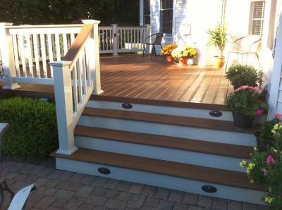 TimberTech deck in Hillard, OH