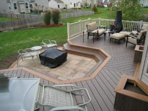TimberTech deck in Westerville, OH