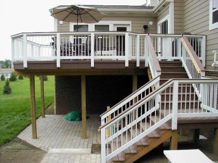 TimberTech Earthwoods deck Columbus, OH