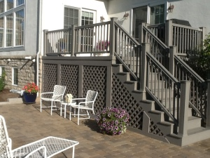 TimberTech River Rock color deck Columbus