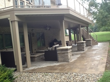 Archadeck Columbus covered patio deck