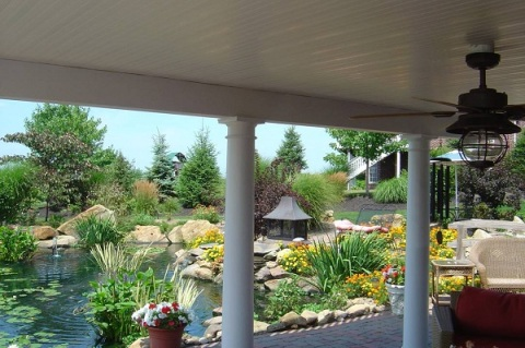 DrySnap rain deck