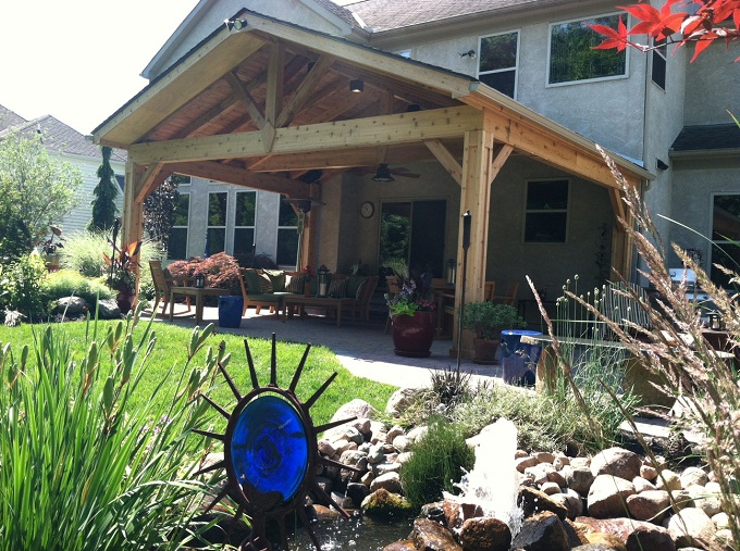 Building With Cedar Columbus Decks Porches And Patios