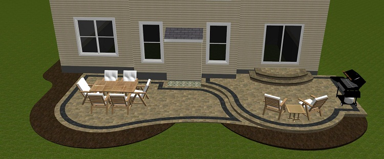 Hardscape Design Ideas backyard hardscape ideas on cheap backyard hardscape design ideas Columbus Oh Patios An Hardscapes Builder