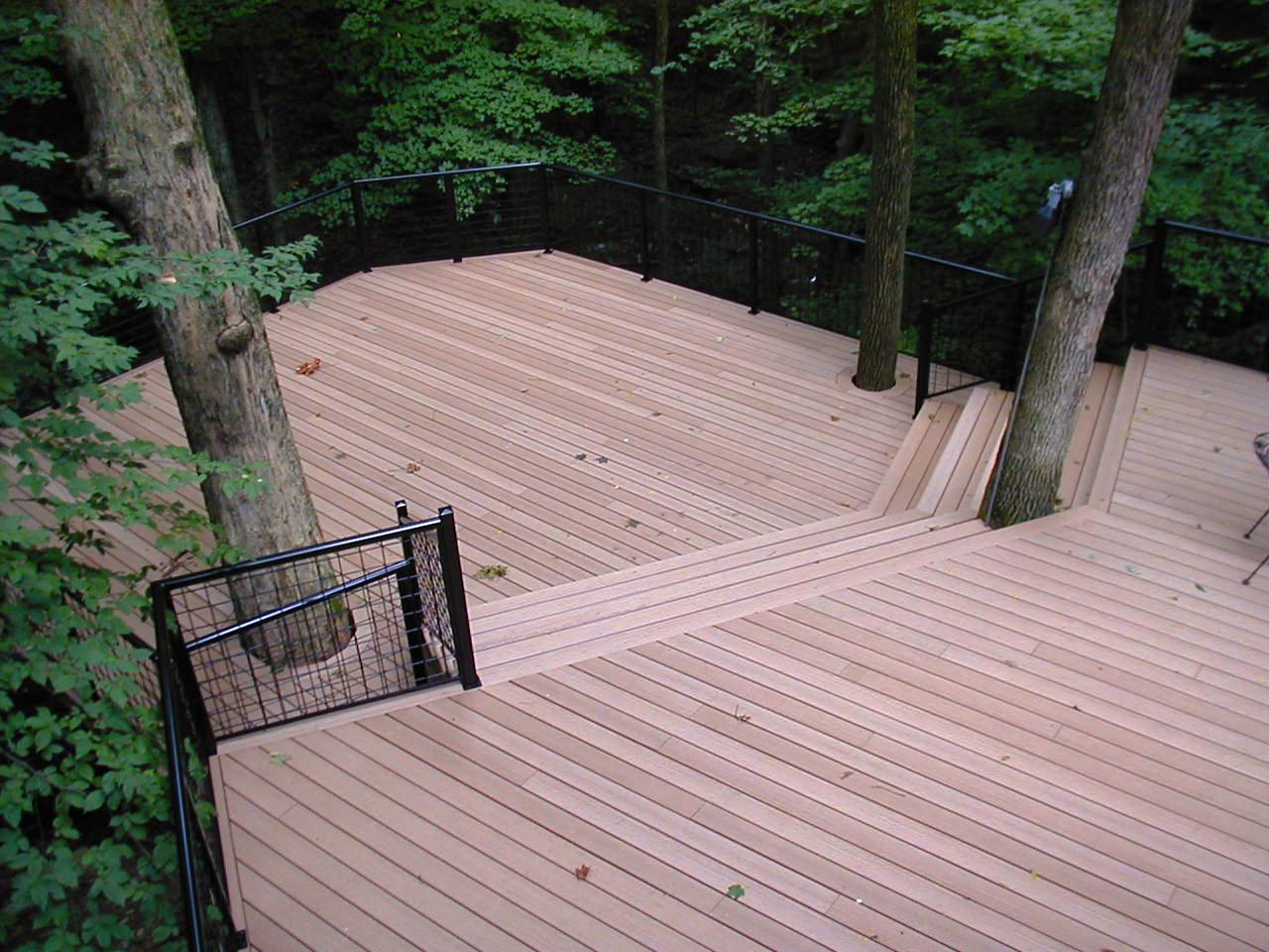 Columbus oh azek decks columbus decks porches and for Synthetic decking
