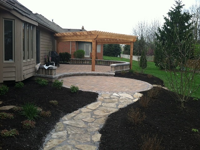 Hardscaping Ideas For Backyards backyard hardscape ideas outdoor furniture design and ideas Columbus Oh Hardscape Patios And Paths