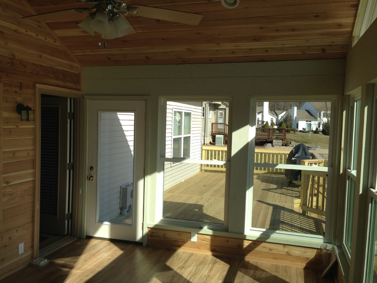 Our recent 3 season room in newark ohio proves summer is for Large windows for sunroom