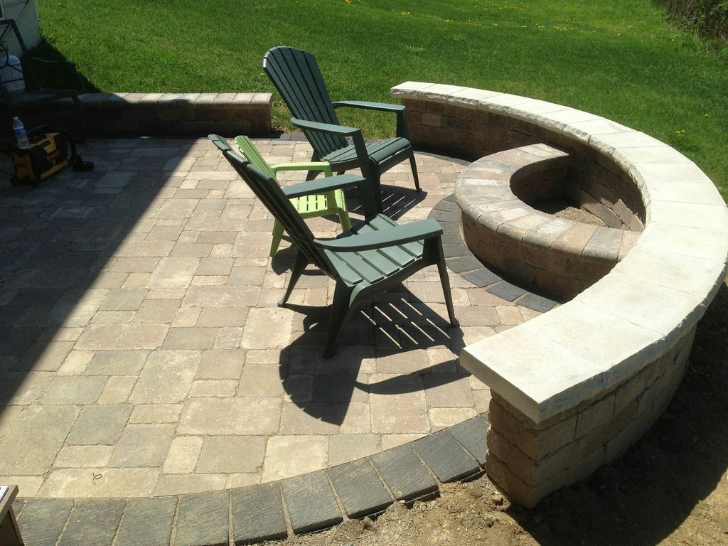 outdoor fireplaces and fire pits columbus decks porches and