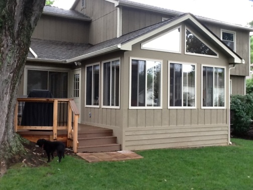 Worthington oh three season room builder columbus decks for Three season rooms pictures