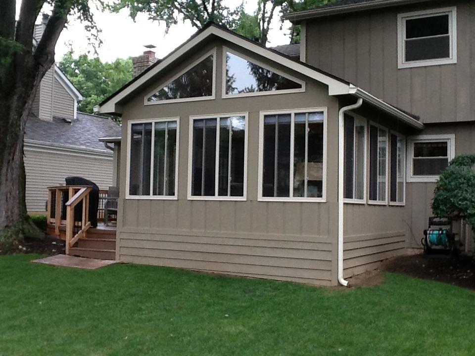 Combination Outdoor Structures Design Columbus Decks