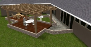Upcoming Arlington OH Outdoor living combo