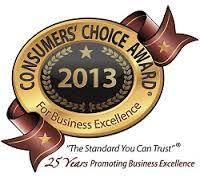 2013 consumers choice award