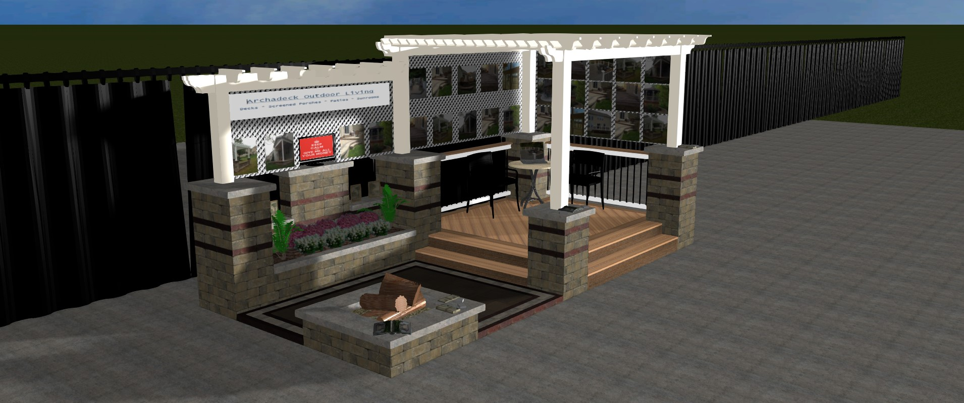 A Look At Our New Booth For The Columbus Dispatch Home And Garden Show