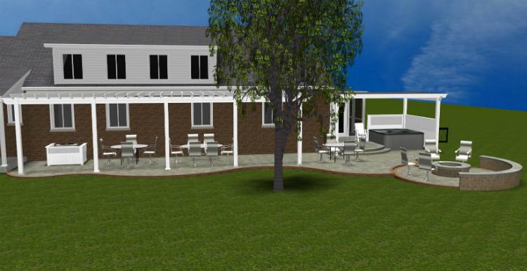 Empty Backyard Ideas : It?s not an empty backyard, it?s a world of possibilities