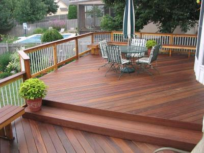 Ipe Deck Columbus Columbus Decks Porches And Patios By