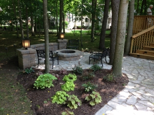 perfect backyard oasis in Columbus OH by Archadeck lr