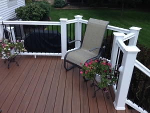 Take a look at this bump-out area that can be used for a grill or other uses