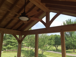 Columbus cedar screened porch by Archadeck of Columbus