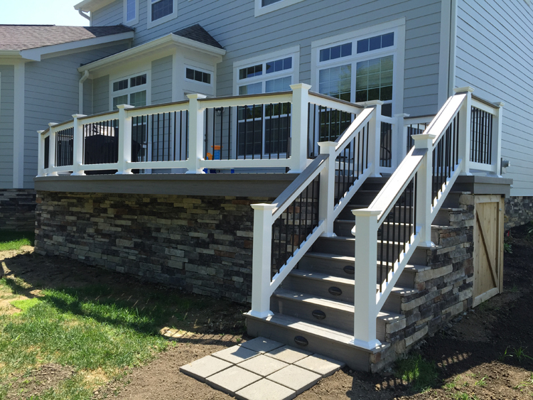 Decks Columbus Decks Porches And Patios By Archadeck Of