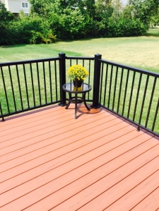 TimberTech Pacific Redwood deck Powell OH