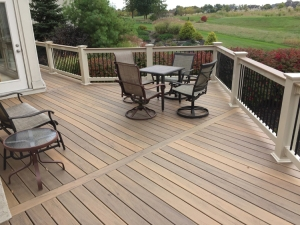 re-deck in Columbus Dublin OH with TimberTech lr