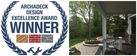 Design Excellence Award Winning Columbus Hardscape