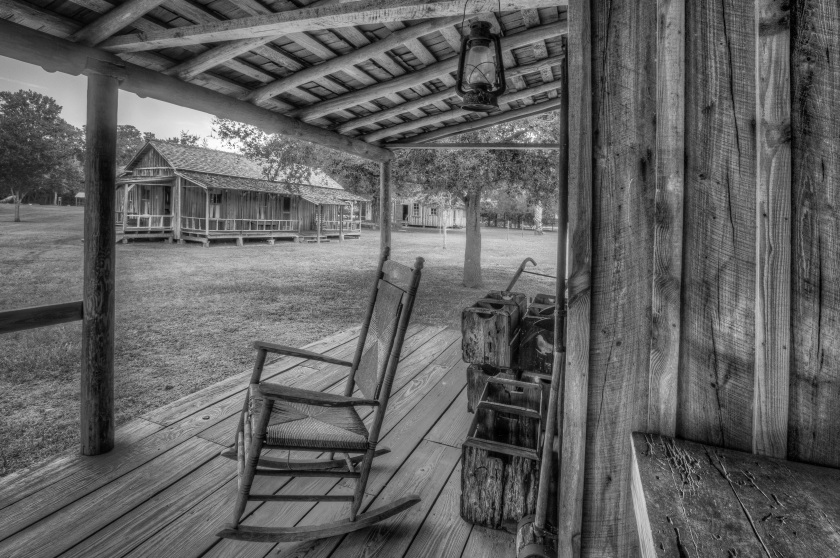 Rocking chair front porches of yesteryear