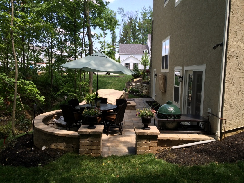 Westerville OH fire pit builder