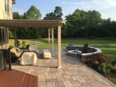 New Albany, OH, Paver Patios