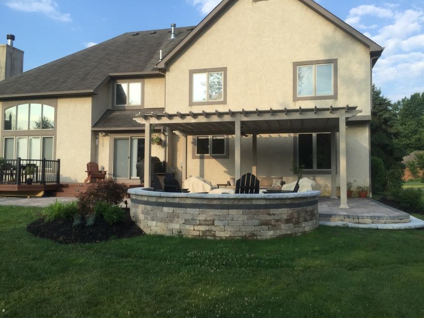 New Albany OH Fire Pit Builder