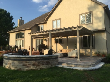 New Albany OH Paver Patio Builder