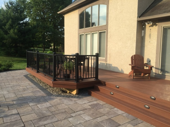 New Albany, OH, Low Maintenance Decks